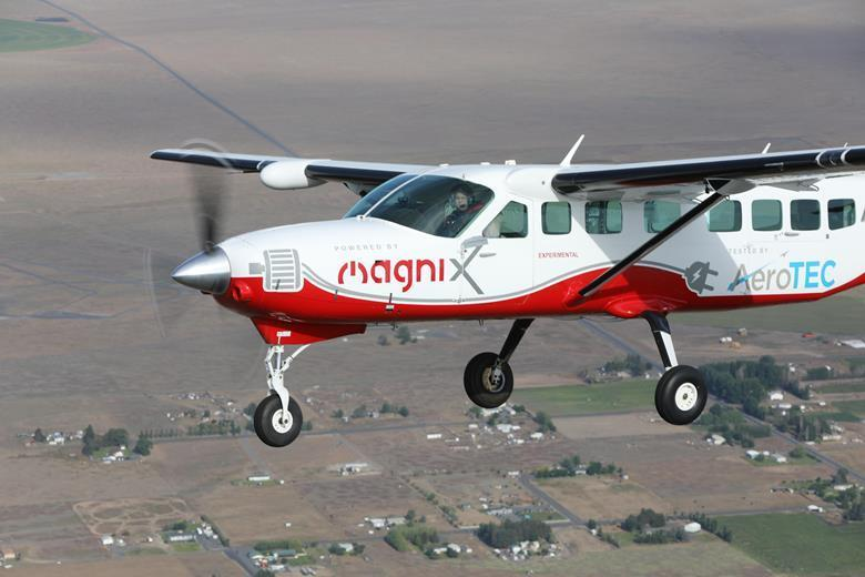 Nine-seats electric aircraft completed its first successful flight to Washington
